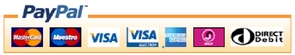 Pay by credit/debit card or PayPal