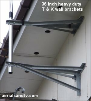 "36"" T and K brackets"