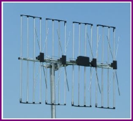 About TV Aerials, Vertically polarised Grid aerial