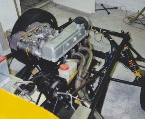 Pinto 2.1 engine just fitted in my Westfield SEi (1989)