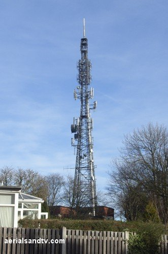 Sheffield / Crosspool TV transmitter
