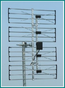 About TV Aerials Horizontally polarised Grid aerial