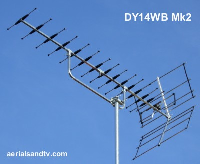 DY14WB Mk2 high gain wideband aerial