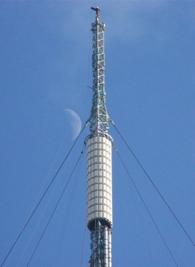 Belmont transmitter being shortened
