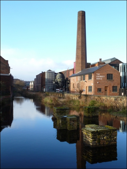 Kelham Island mill race (Sheffield)