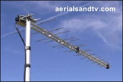 Log36 TV aerial, very suitable for lofts.