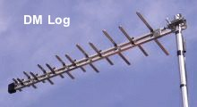 DM Log TV aerial