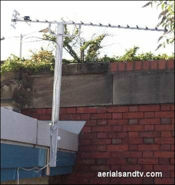 The only pole that has a higher wind loading than the actual aerial !