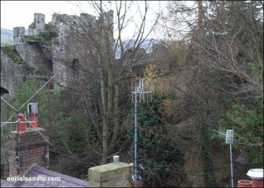 Conway`s medieval walls, the town is well worth a visist.