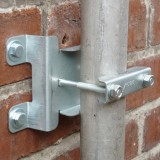 Low profile wall brackets