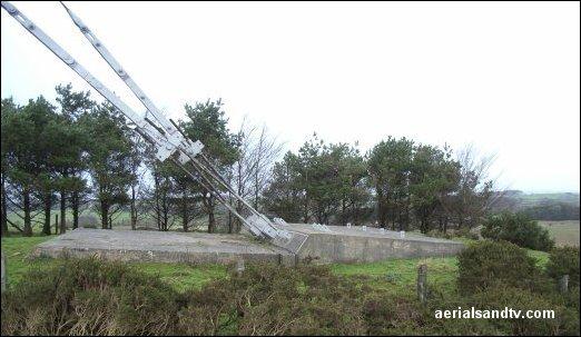 Mendip transmitter's anchor block L15 38kB BB