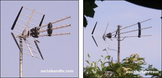 Wrong aerial for Crystal Palace transmitter (or any A group transmitter) 536W L5