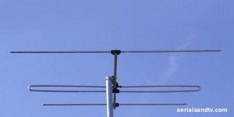 3 Element FM Television Aerial