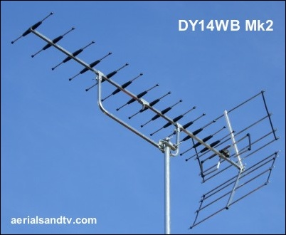 ATV's choice of TV aerials DY14WB Mk2 402W L10 21kB