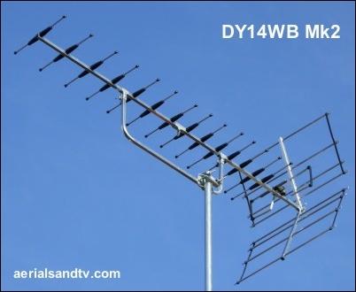 ATV's choice of TV aerials DY14WB Mk2 402W L10 21kB