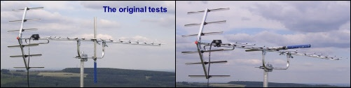 Aerial positioning - Yagi18A with opposite and same polarity pole 501W L5 22kB