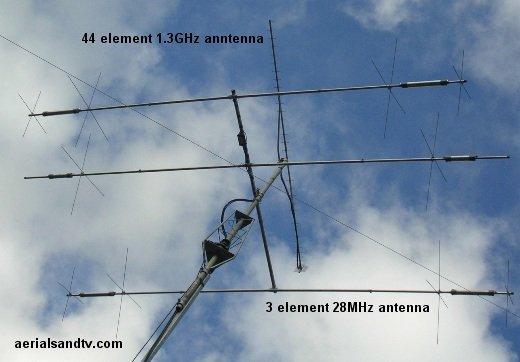 Amateur radio aerial array L6 50kB
