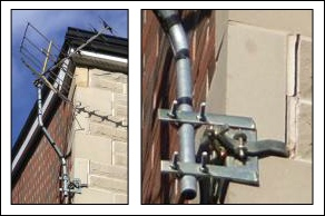 Bang bang chimney brackets - not recommended 292W L5