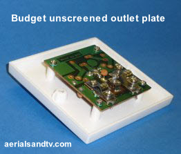 Budget wall plate  262W L15 11kB