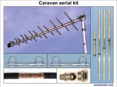 Caravan TV aerial kit 800W L5