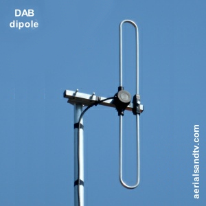 DAB Dipole Aerial