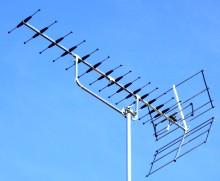 DY14WB Mk2 high gain wideband TV aerial 220W L10 21kB