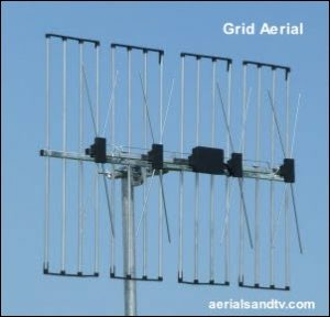 Grid wideband TV aerial 302W L10