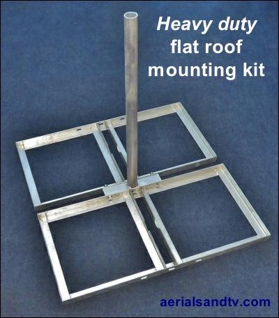 Heavy duty flat roof mounting kit 400W L5