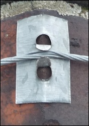 Lash kit corner piece in use 250H L5