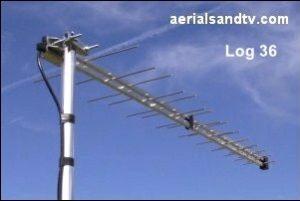 ATV's choice of TV aerials the Log36 302W