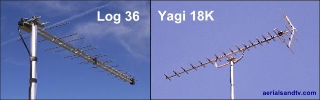 Log 36 or Yagi 18K 200H L5