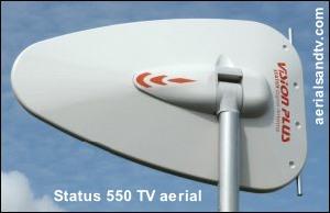 Log Periodic Status TV aerial 300W L20 8kB