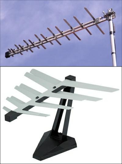 Log Periodic v set top log aerial 400W L5