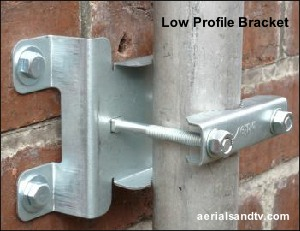 Low profile wall bracket 300W L10 13KB