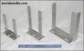 Wall Brackets 6x6 6x9 and 9x9 351W L5 kB