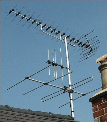 XB16A + FM4 + DAB3 aerials 401W L5