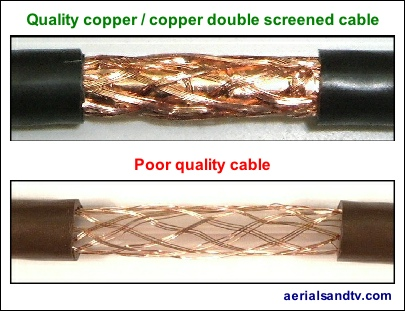 loft aerials - cable quality 405W L5
