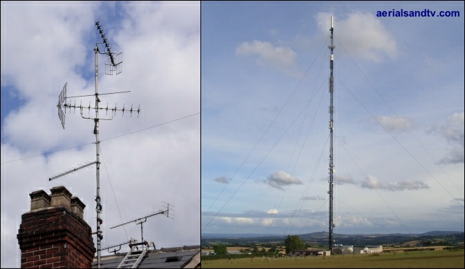 ATV's aerial array and Ridge Hill transmitter 673W L5