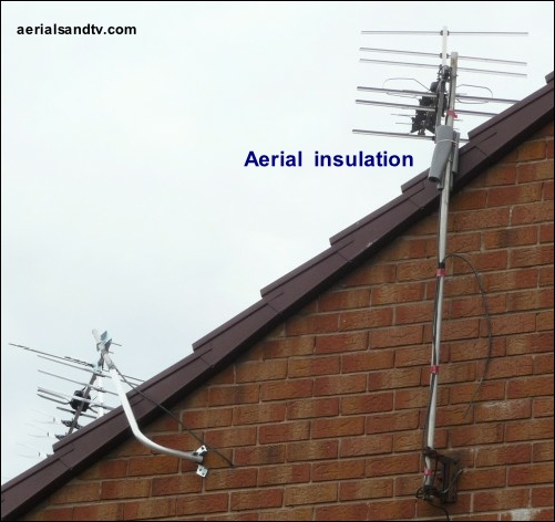 Aerial insulation text 501W L10 40kB