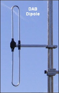 DAB dipole aerial 302H L5