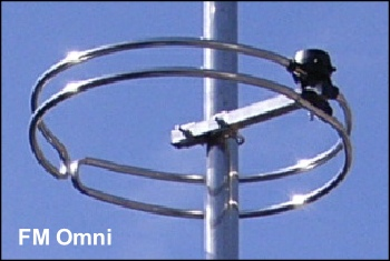 FM Omni aerial - not recommended 350W L5