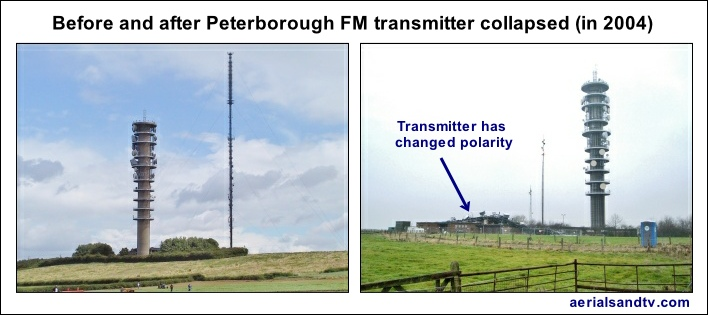 Peterborough FM transmitter changed polarity 708W L5