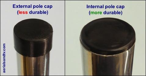 Pole caps pic 250H L10