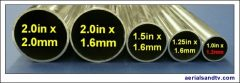 Pole mast diameters and wall thickness - gauge 577W L5