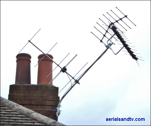 Spondon cowboy TV and DAB aerial pole 500W L5