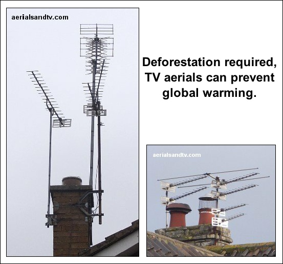 TV Aerials can prevent global warming 553W L5