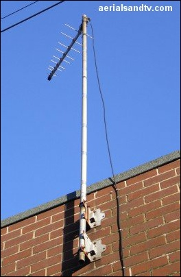 The third way how to run your aerial cable down the pole 404H L5