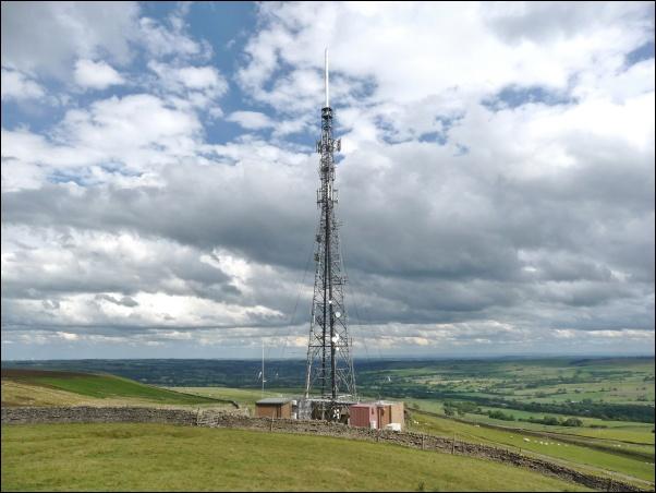 Weardale TV transmitter 602W L5