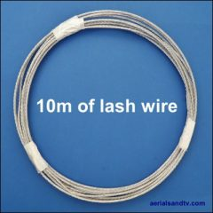 10m length of lashing wire 400Sq L5