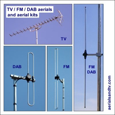 ATV's TV FM and DAB aerials and aerial kits 530Sq L5